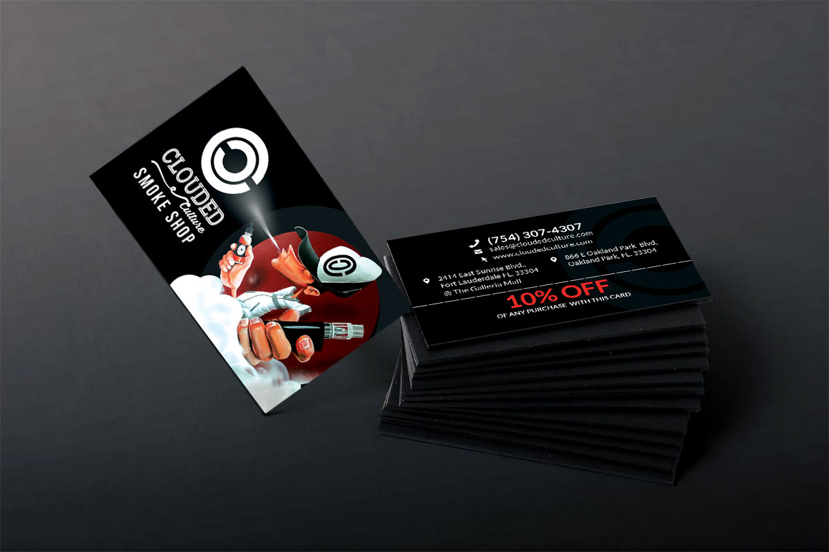 Clouded Culture Business Card | Ingenious Digital